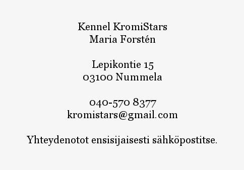Yhteystiedot / Contact