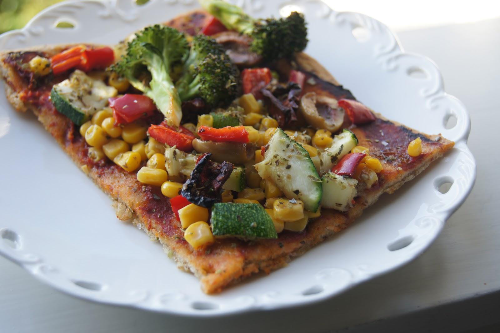 Yeast-free Gluten-free Whole Grain Pizza Dough | Gluten-Free-Vegan ...