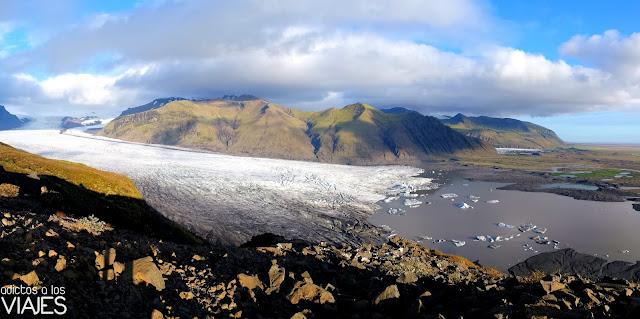 Glaciar Skaftafellsjökull