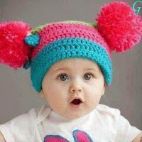 Cute Baby With Pink Cap & Cute Smile Baby Images
