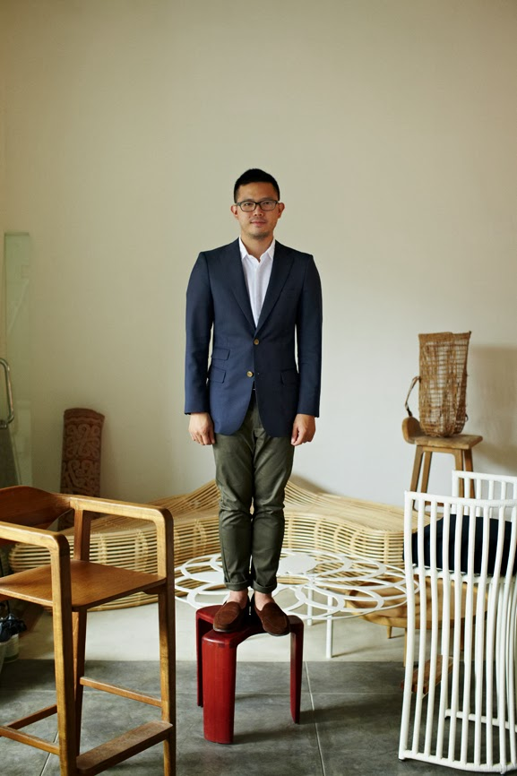 Good Included Was This Portrait Of Indonesiau0027s Brightest Young Furniture +  Interior Designer Alvin Tjitrowirjo.