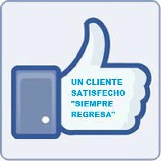 Un cliente satisfecho siempre regresa____JPG