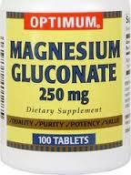 Si los niveles de magnesio en la sangre es menos de lo normal, entonces usted puede tomar gluconato de magnesio.