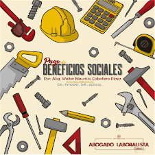 PAGO DE BENEFICIOS SOCIALES EN BOLIVIA