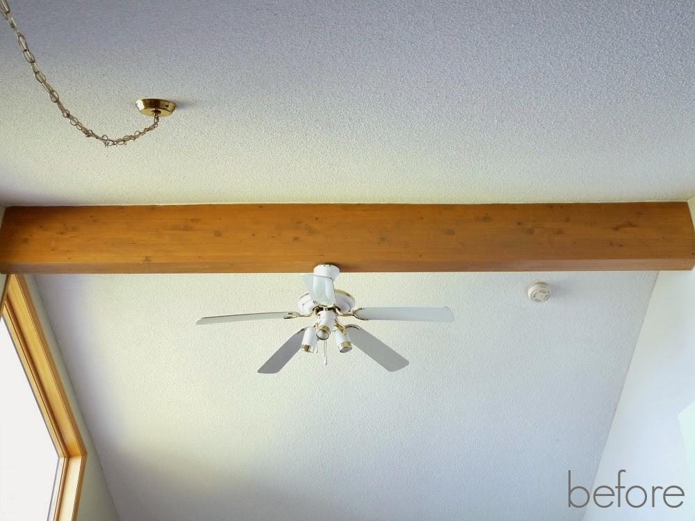 Pine wood beam