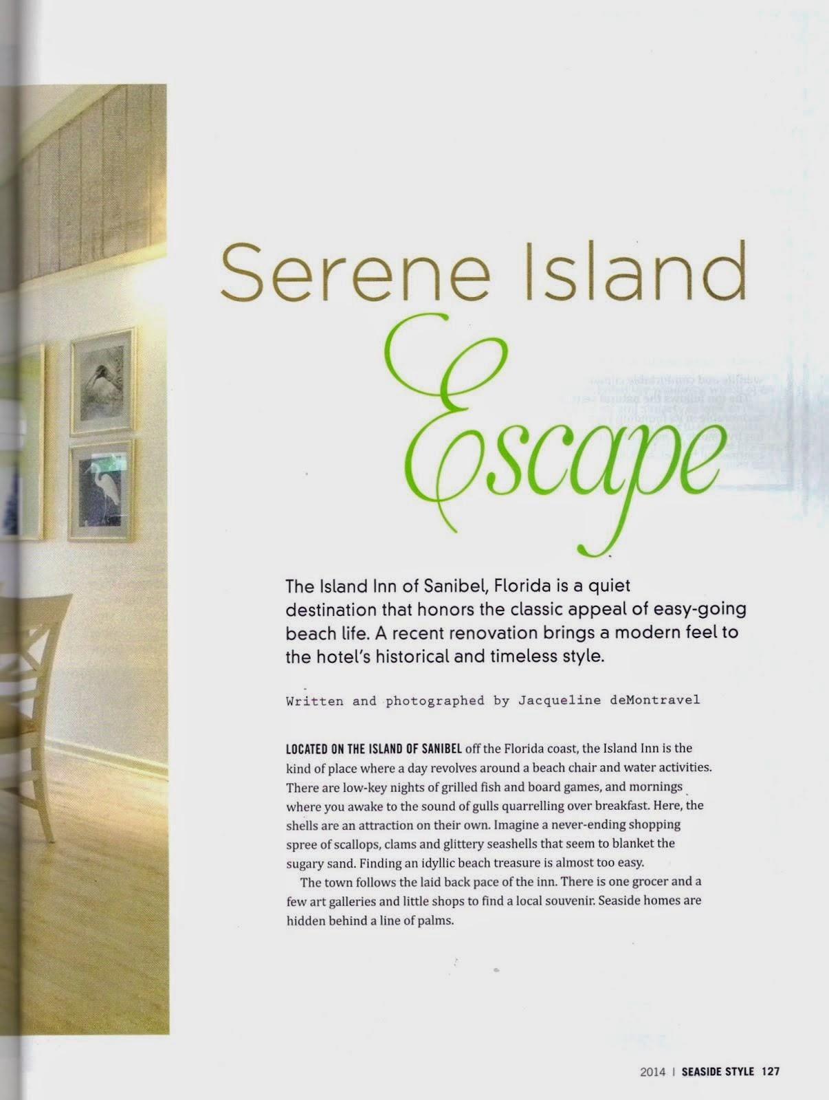 serene island escape