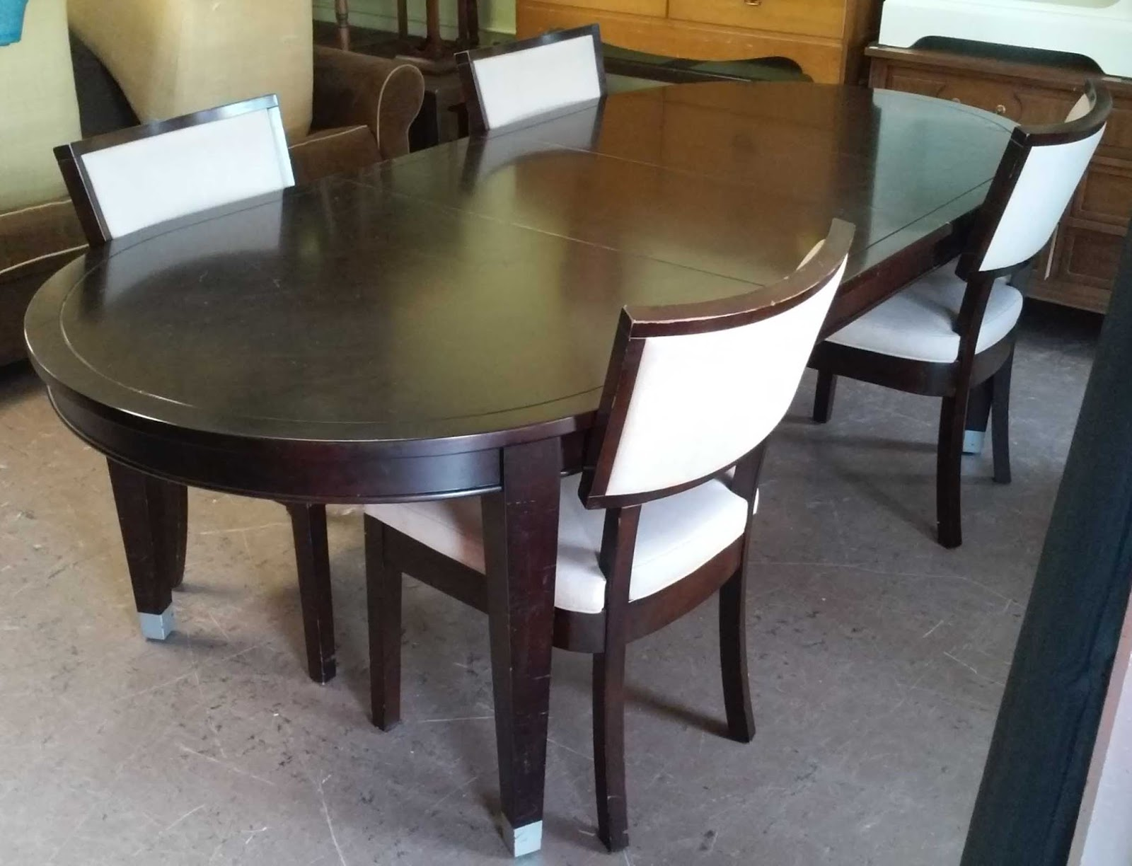Uhuru furniture collectibles sold sitcom modern asian for 120 dining table sets