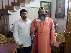 Sam Kurakar and Pulikottil Dr.Geevarghese Mar Yulios