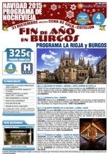 La Rioja Burgos Fin de año 2015