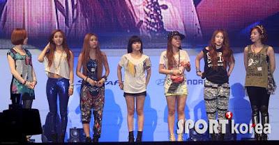 T-ara at Santa Fe KPOP Concert