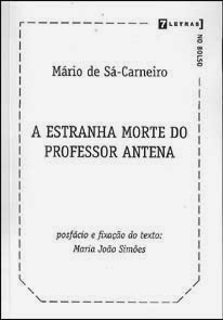 A estranha morte do professor Antena
