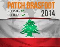 Patch Líbano – Brasfoot 2014