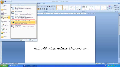 MS. Office Word 2007