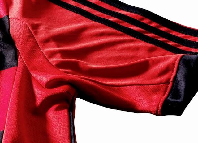manga camisa flamengo adidas formotion