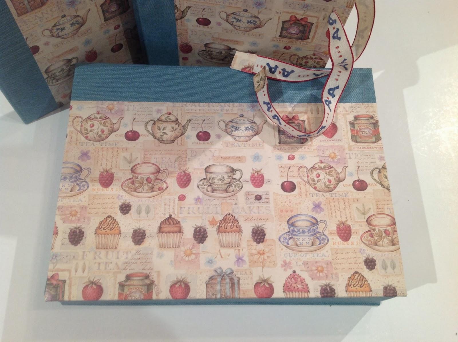 Cartonnage en el taller de curra ideas regalo para - Cajas para cocina ...