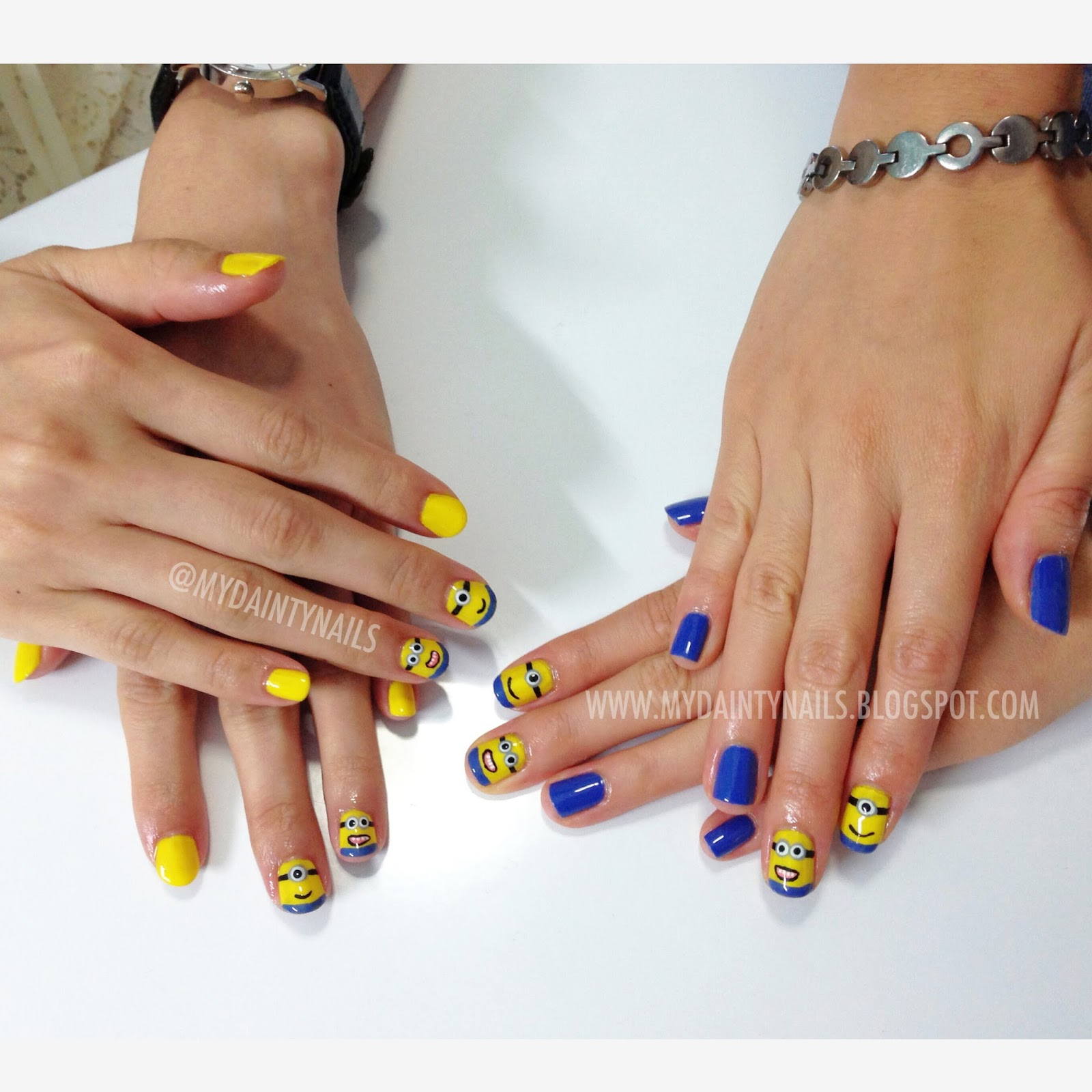 My Dainty Nails: More Despicable Me Minion Nails!