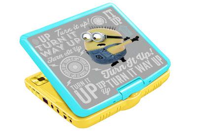TOYS : JUGUETES - MINIONS : Gru Mi Villano Favorito  Reproductor de DVD portátil  Producto Oficial Película 2015 | Lexibook DVDP6DES   Comprar en Amazon España