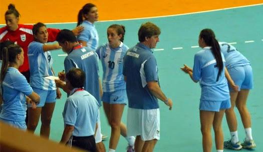Selección argentina handball femenina | Mundo Handball