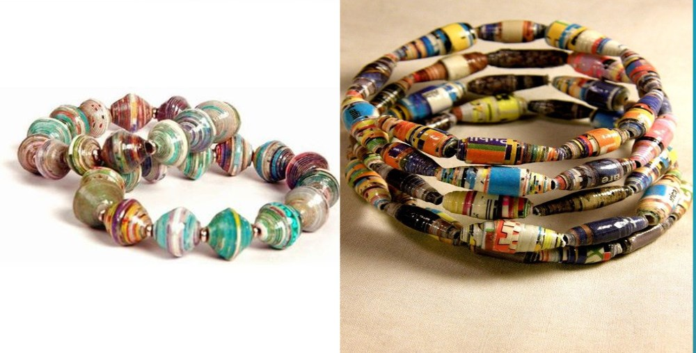 How to recycle bracelet collections made from recycled for Waste material images