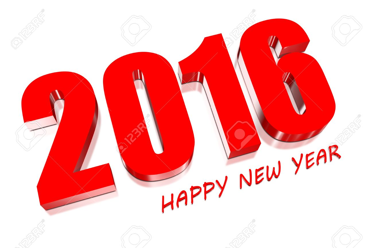 صور 2016 18019964-3D-Happy-new-year-2016-Stock-Photo