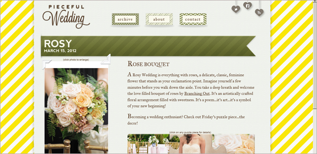 unique wedding blog