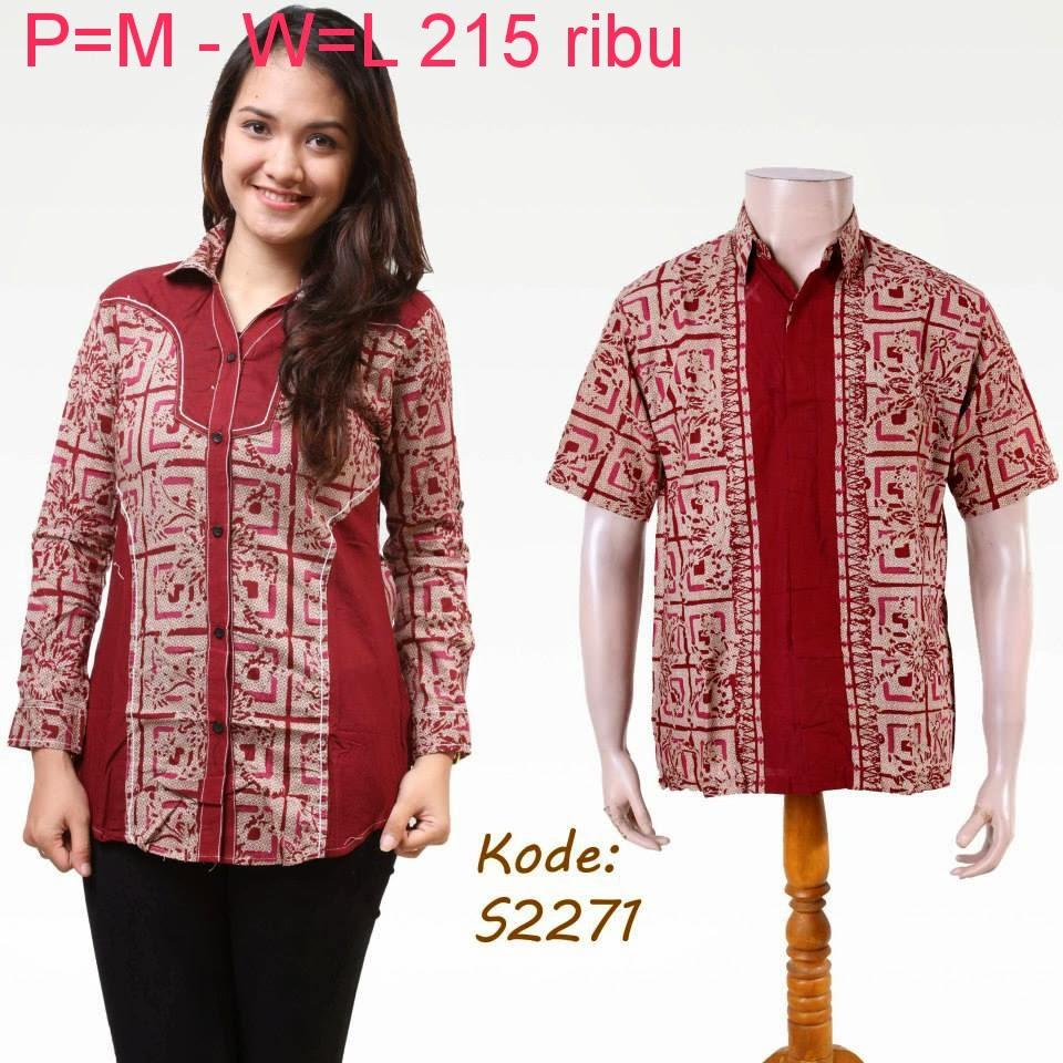 Baju Batik Pasangan Untuk Pesta Model Baju Batik