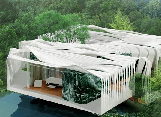 A Modern Sustainable Architecture Home At Bird Island Malaysia