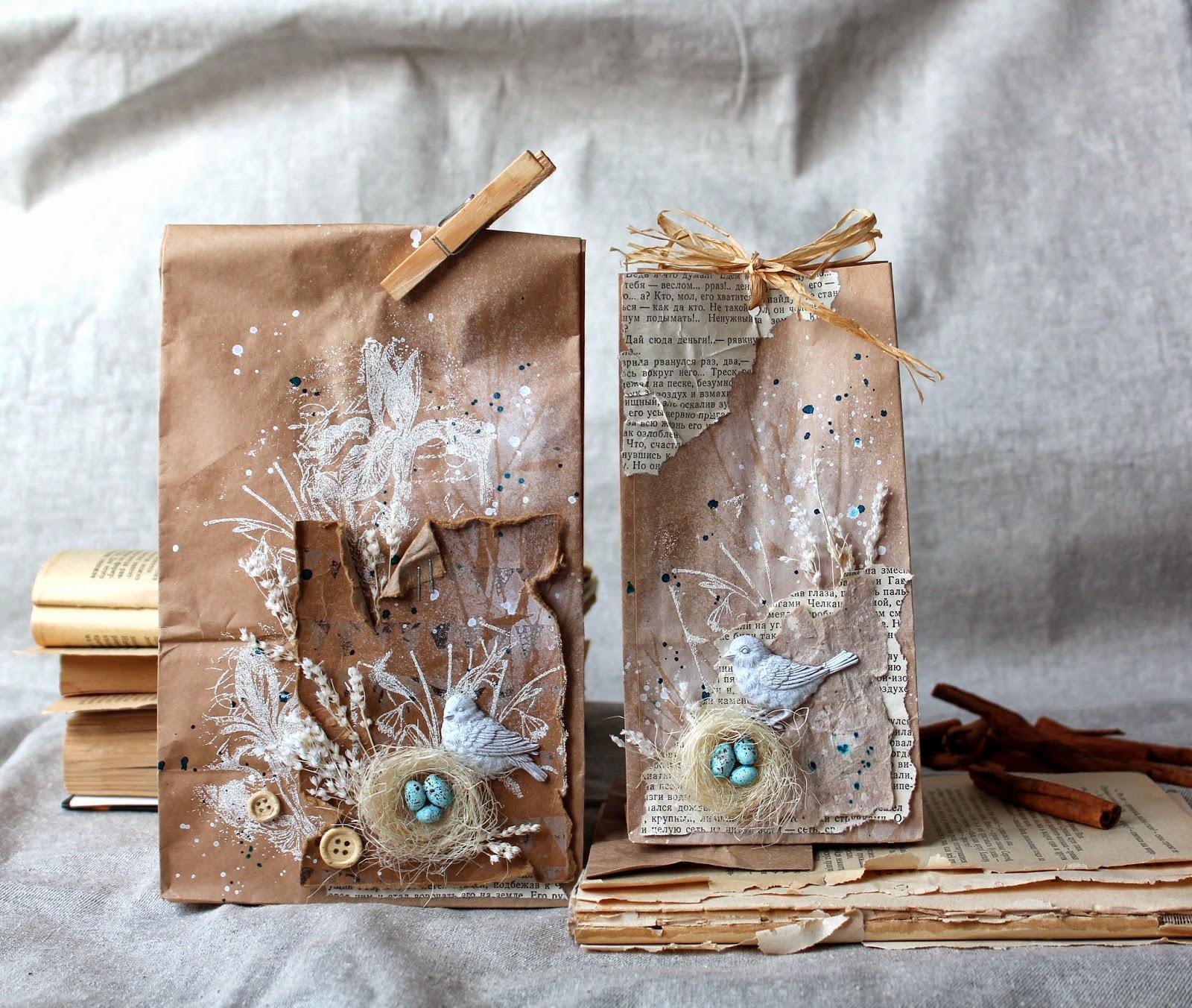 Крафт пакеты своими руками фото 519