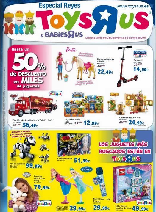 Juguetes de Toysrus Especial Reyes 14-15