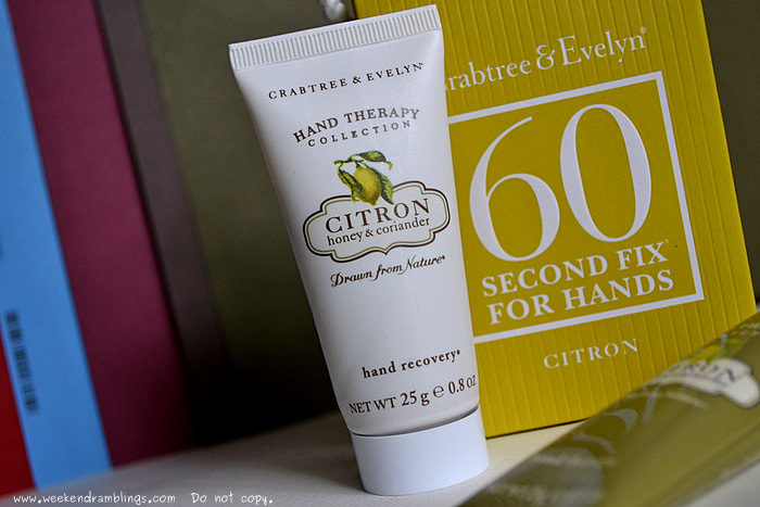 Crabtree Evelyn 60 Second Fix for Dry Hands Care Scrub Manicure Moisturize Reviews Ingredients How to use Remedy Therapy Skincare Blog