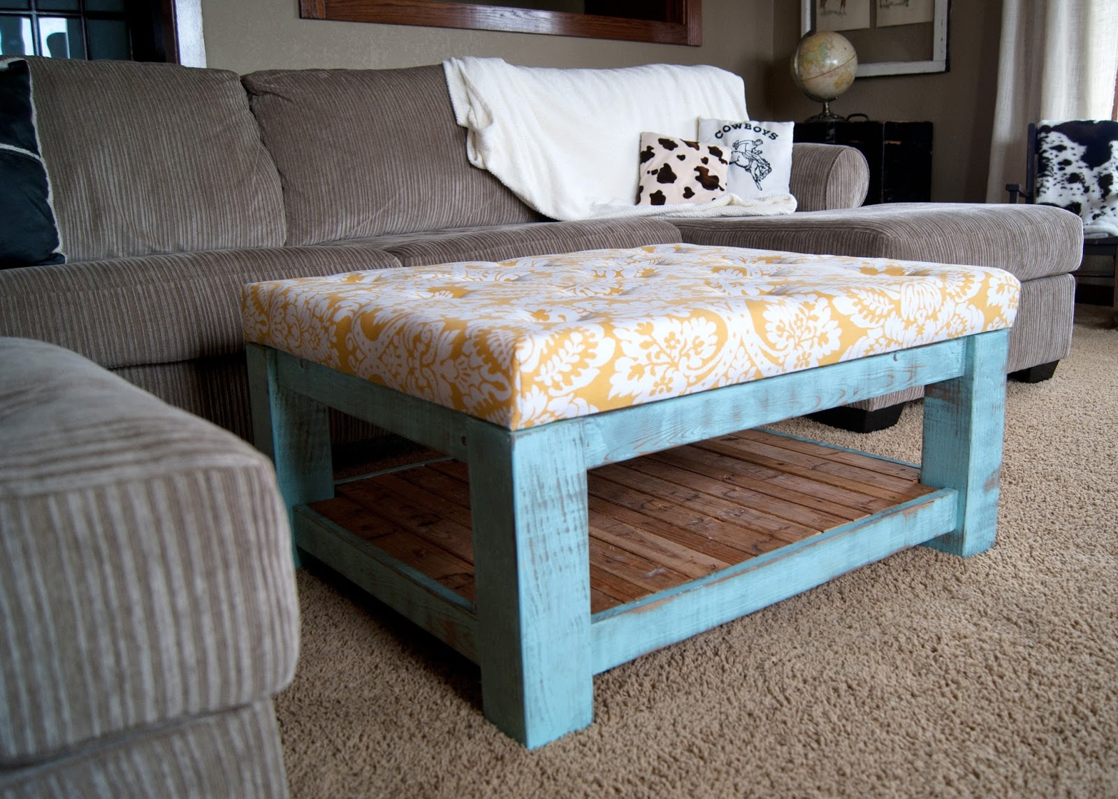 Diy Ottoman For Under 100 Averie Lane Diy Ottoman For Under 100