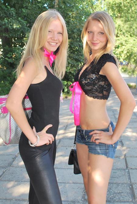 Юнные девицы