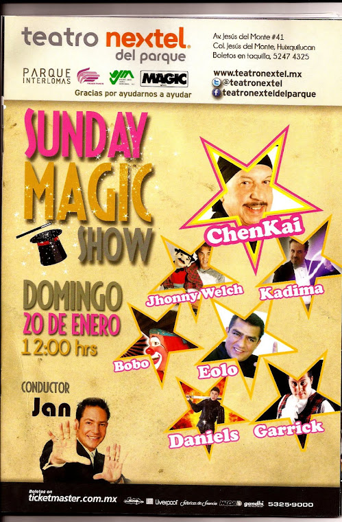 Sunday Magic Show