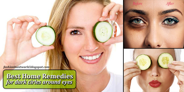 How To Remove Dark Cirlces Around The Eyes, Checkout Top 5 Home Remedies