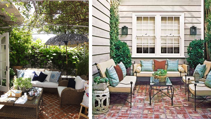 Les plus beauxx pinterest ideas brick patio for Pinterest small patio ideas