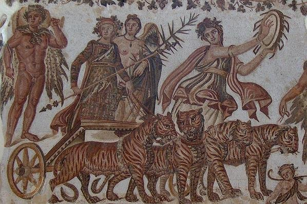 indian triumph of dionysus Professor sir john boardman, university of oxford dionysos was the greek god of wine for the eastern and indian connection there is euripides' record of the god coming from bactria and triumph in war.
