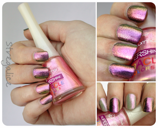 Flormar U02 detail duochrome glassfleck multichrome