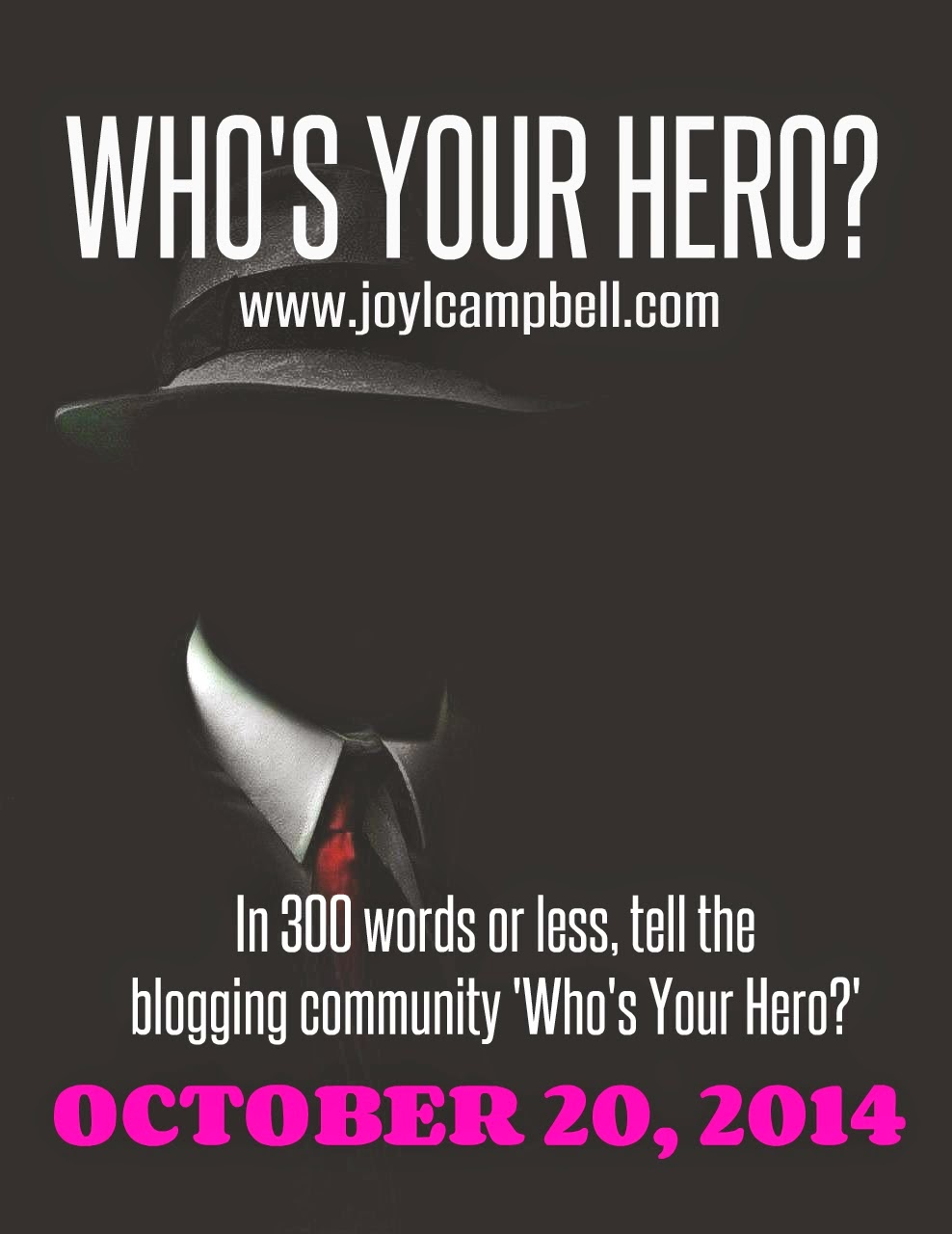 Who's Your Hero Blogfest