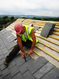 Roofing contractors