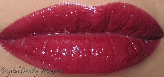 Rouge à lèvres Rouge Éclat 07 Red Wine de Clarins - Rouge Eclat lipstick review - Swatch