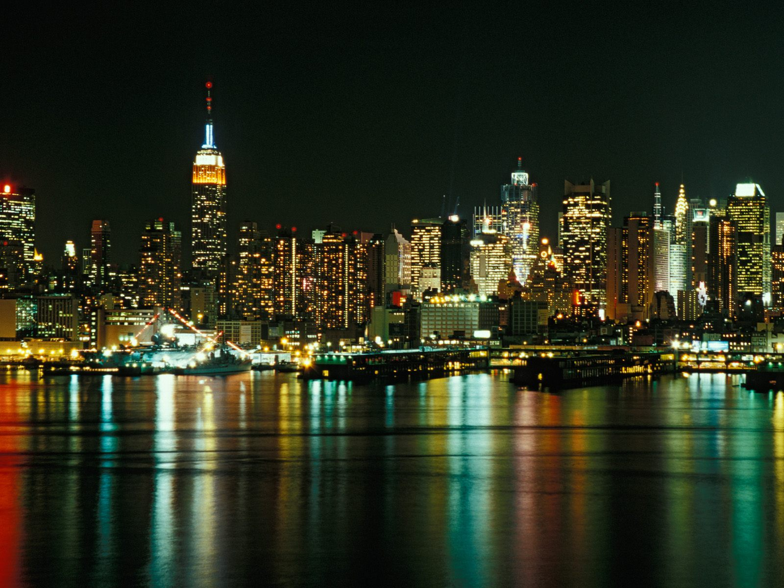 Beautful pc wallpapers usa city wallpaper p2 for Places to see in nyc at night