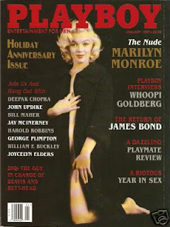 Marilyn Monroe Playboy Magazine nua