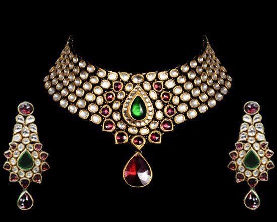 Indian Jewellery And Clothing Beautiful Kundan Bridal