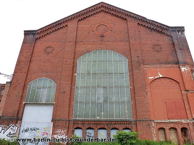 Kraftwerk, Fabrik, Gebäude, Industrie, Ziegelstein, Rummelsburg