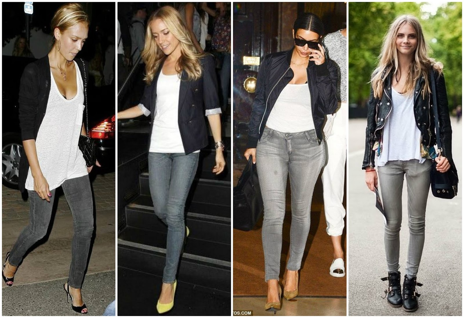 Top Three Grey Jeans Outfits | On the Daily EXPRESS