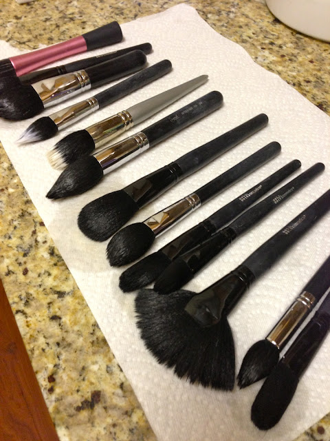 How to Clean Your Makeup Brushes Like a Pro | www.annemariemitchell.com