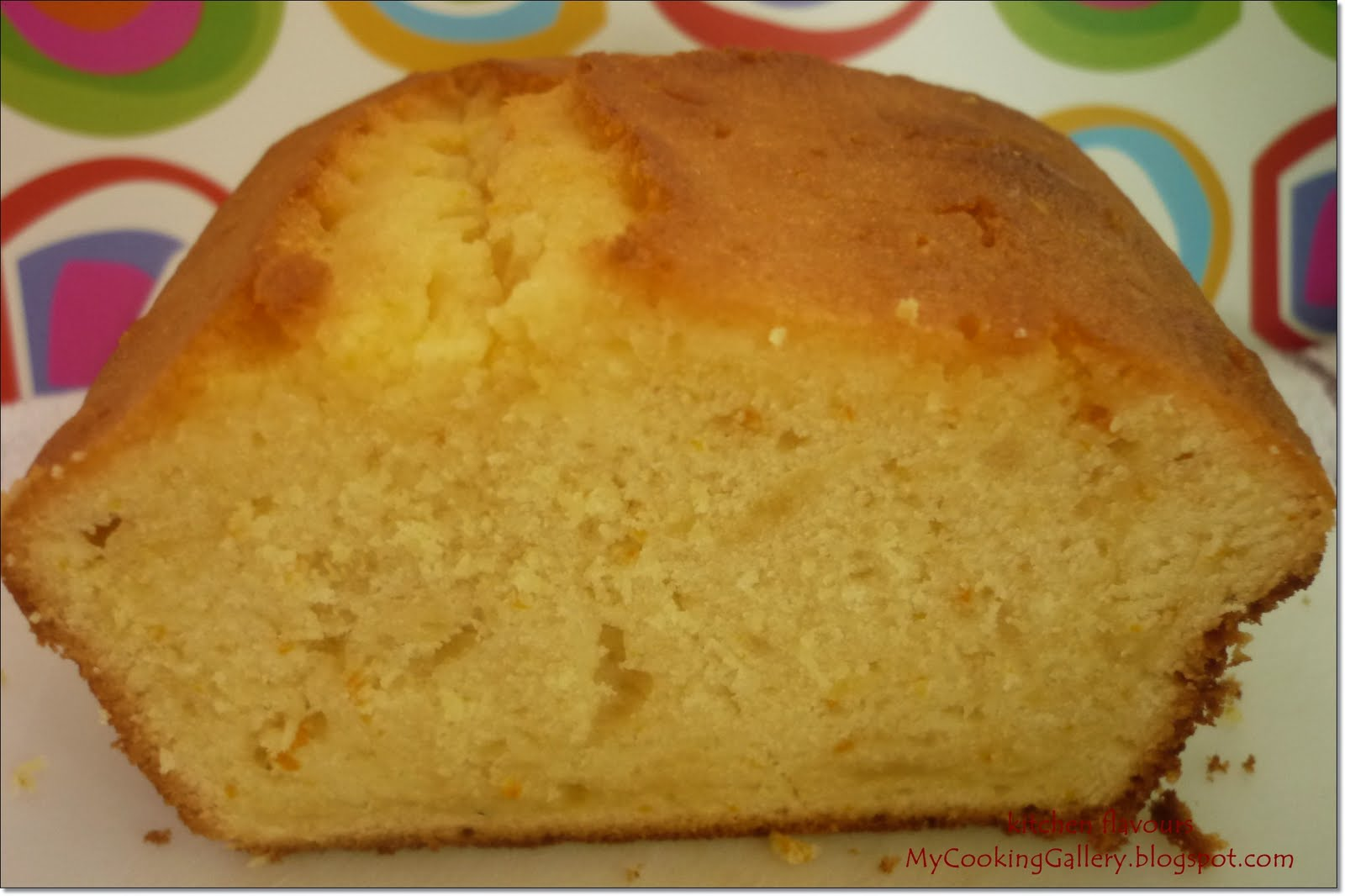kitchen flavours: Orange Pound Cake