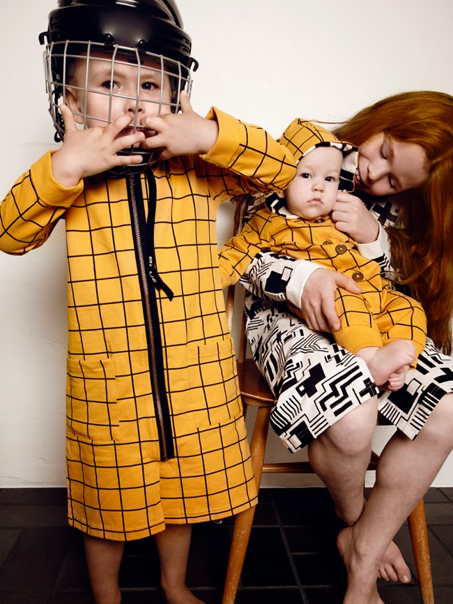 Stlylish homewear for kids by Mainio Clothing SS14