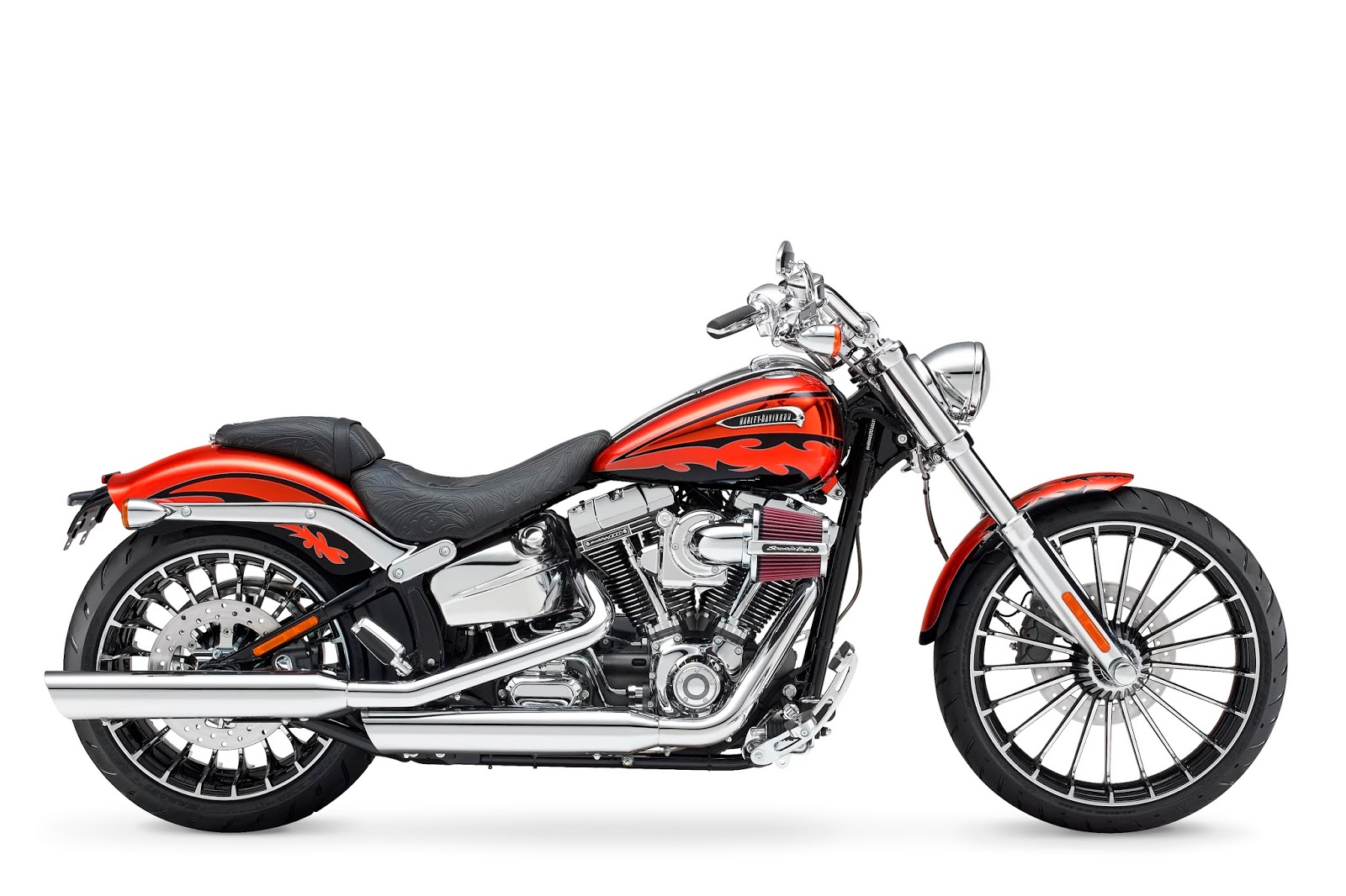 racing caf harley davidson fxsbse cvo breakout 2014. Black Bedroom Furniture Sets. Home Design Ideas