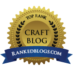Made it in Top Craft Blogs at Ranked Blog.